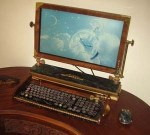 steampunk-monitor-and-keyboard