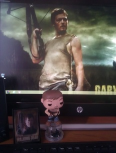 My shrine to Daryl Dixon